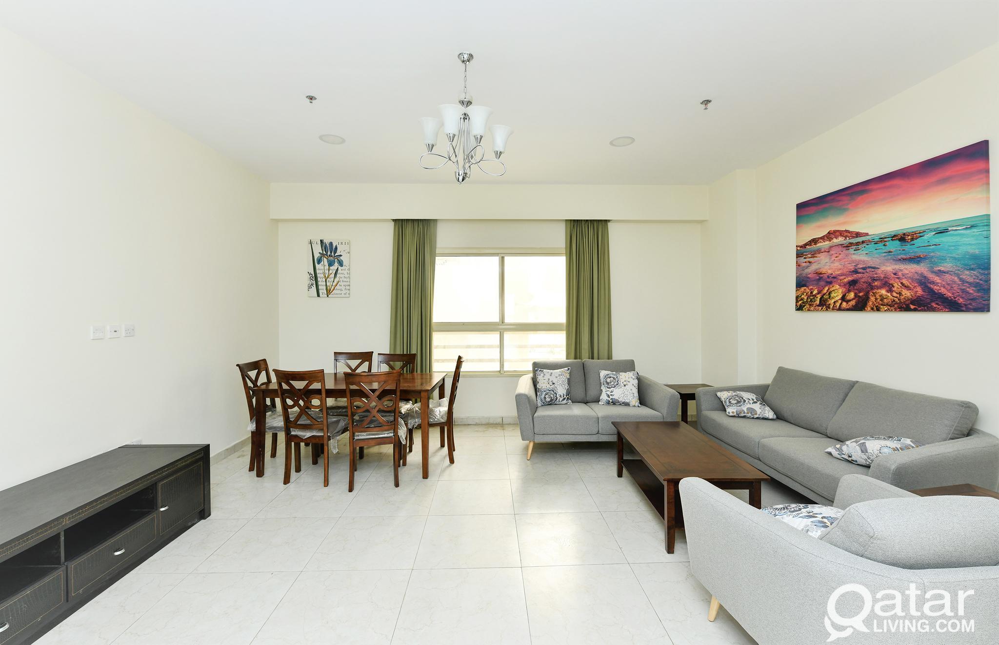 Brand New F/F Apartment in Bin Mahmoud 4Rent