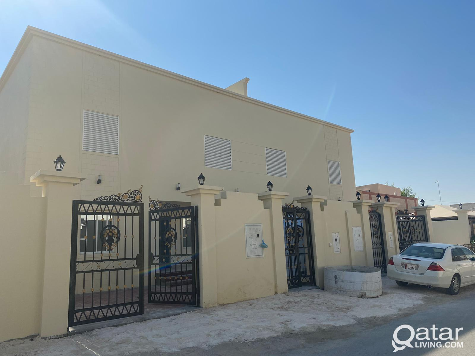4 brand new Villas, in Muaither for rent