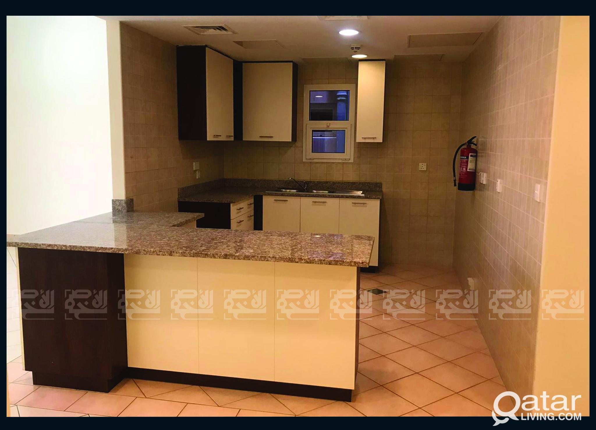 Unfurnished 2-Bedroom Apartment in Mesaimeer City