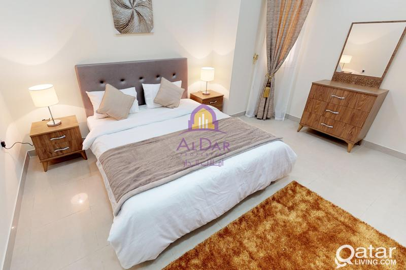 Spacious Furnished 2 Bedrooms In Mansoura
