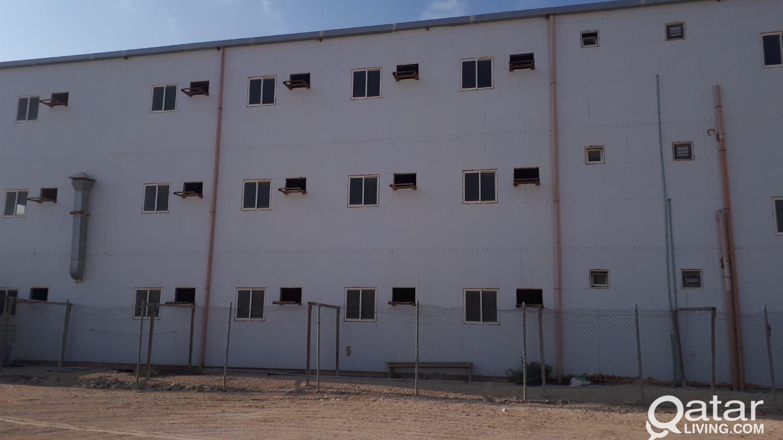 58 ROOMS CAMP AT AL SHAMAL / RUWAIS SHORT TERM OR