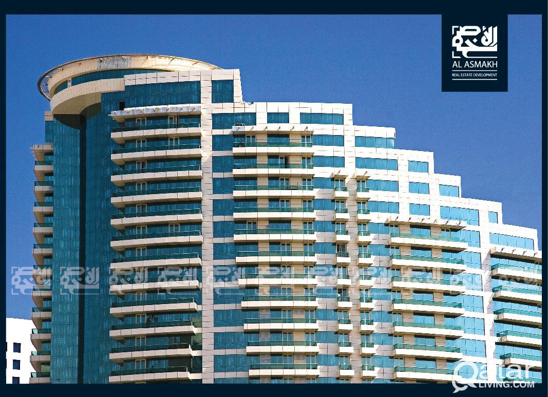 Lux. & Furnished 2-BDR Apt, West Bay