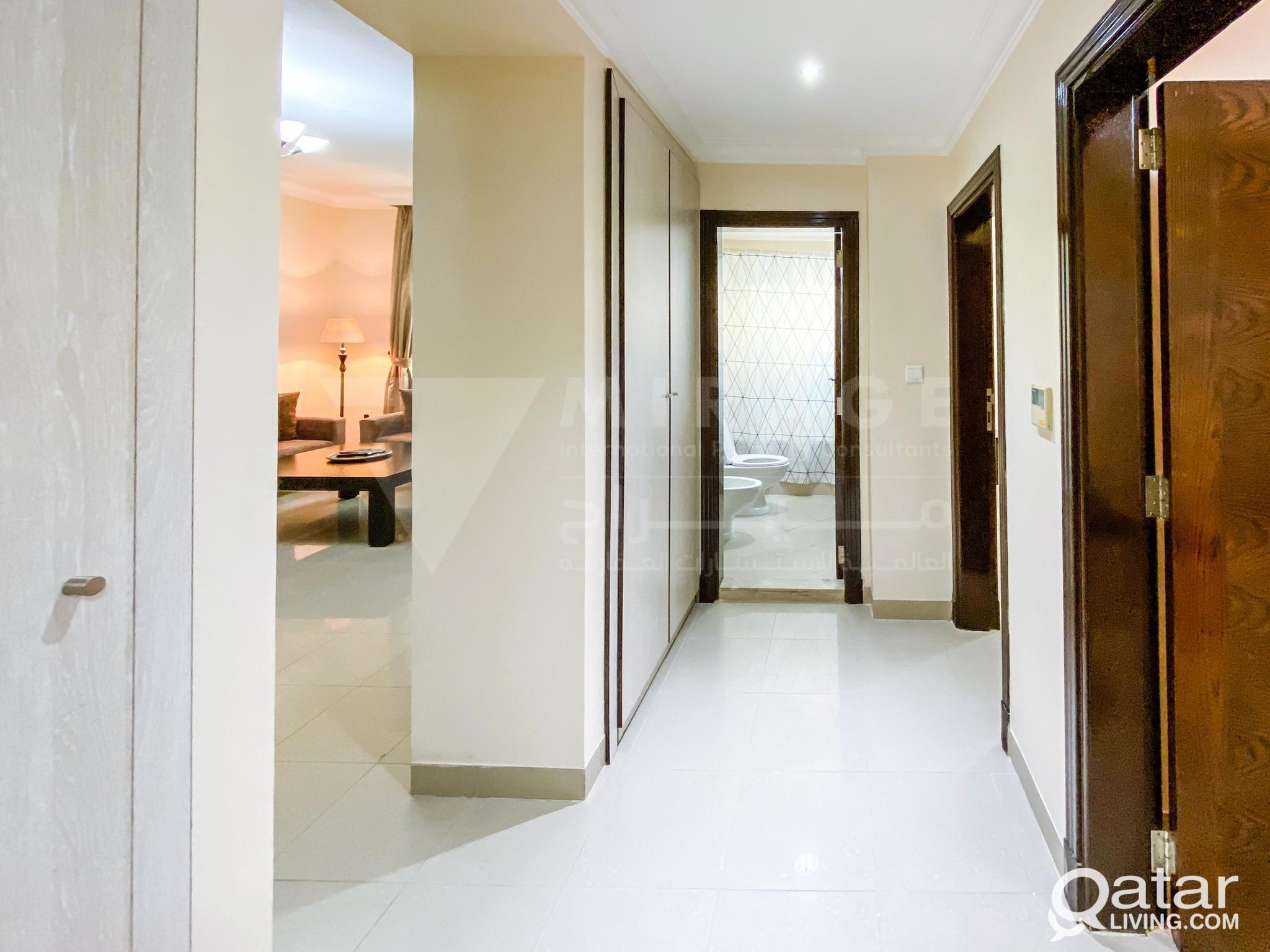 Elegant 2 Bedroom Fully Equipped Serviced Apartmen