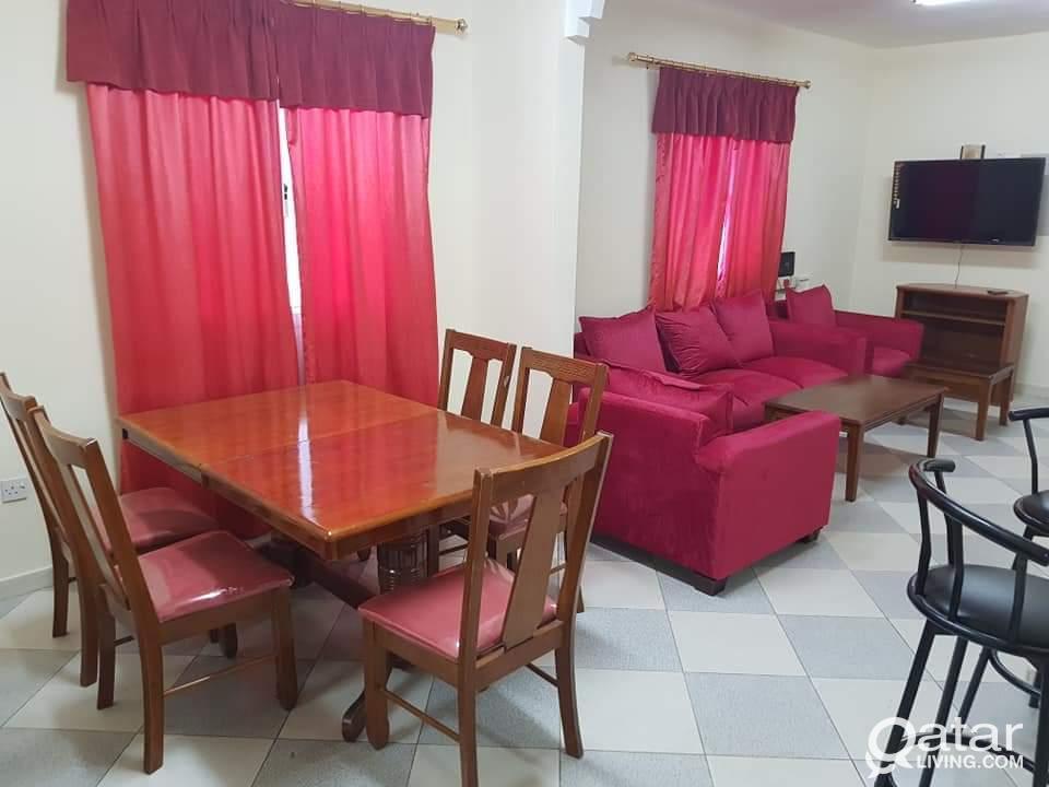 2bhk fully furnished in mushirb 4000 qr. شقه مفرو