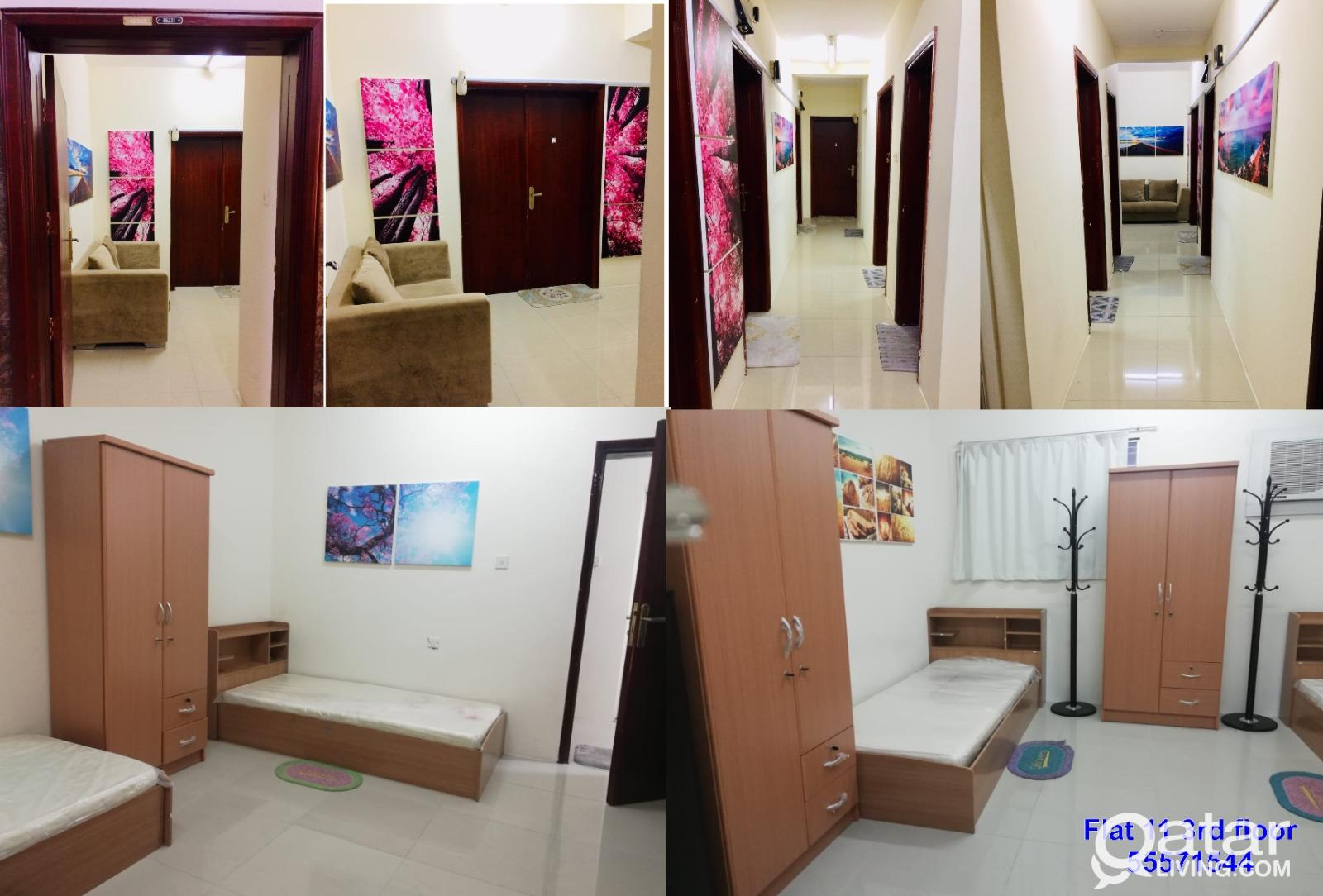 Male Bed Space Long term and short term in doha
