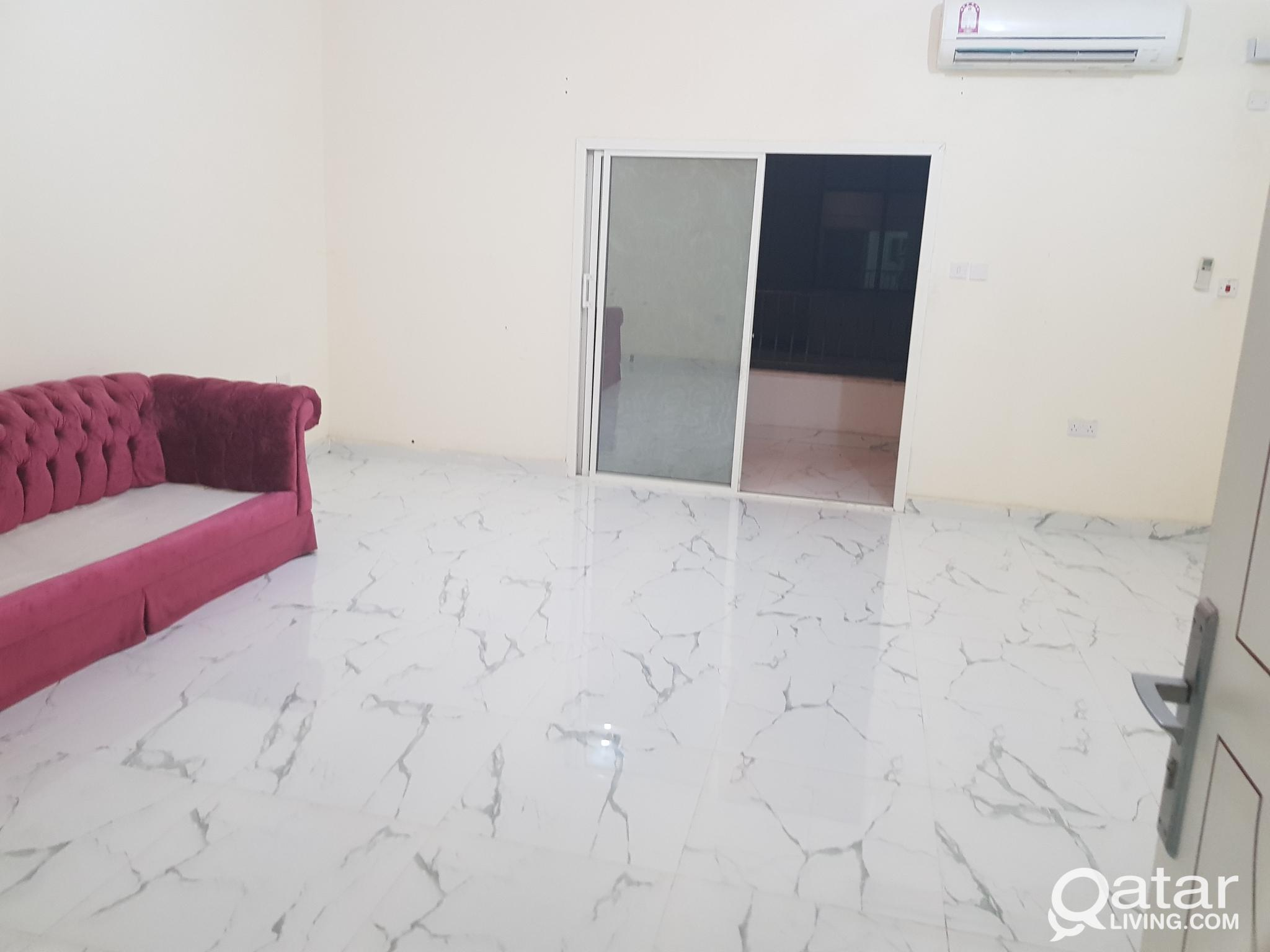 2 bhk  spacious at alnasar near doha clinic4500 qr