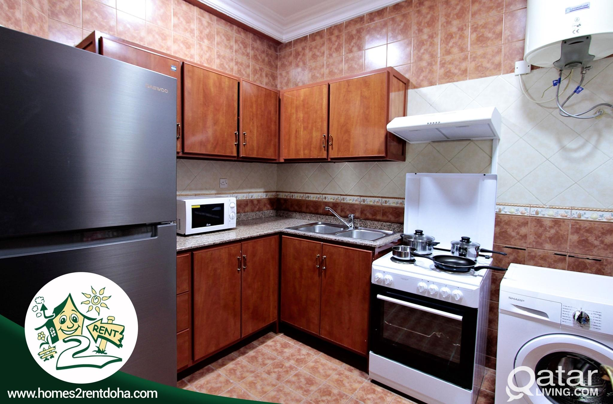 2BHK FULLY FURNISHED APARTMENT !  (OLD AIRPORT)