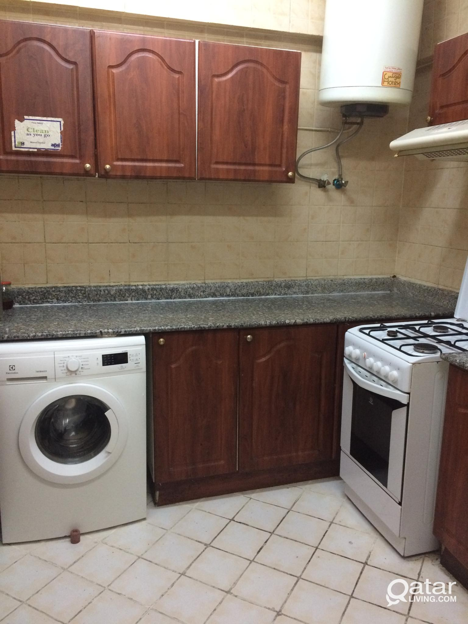 2 PERSON SHARING Concrete Rooms Available for Indi