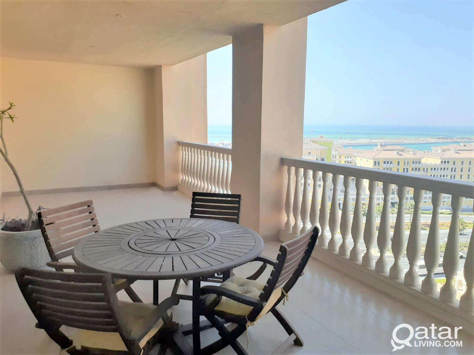 Amazing View Spacious 2BR+Balcony For Sale-Pearl