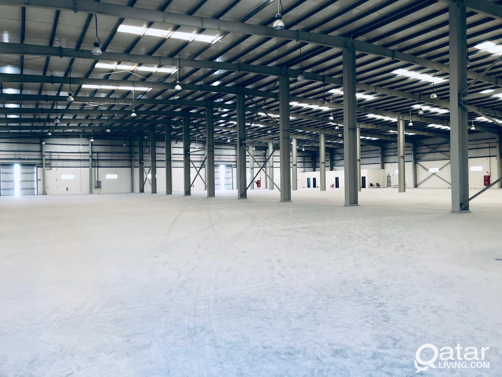 warehouse (7000&1000.M)FOR RENT AT INDUSTRIAL AREA