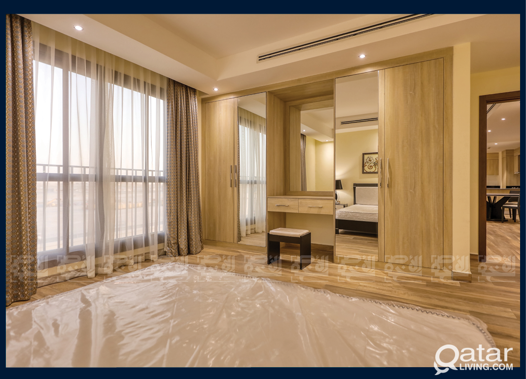 New Luxurious 1-Bedroom Apt. in Fox Hills, Lusail