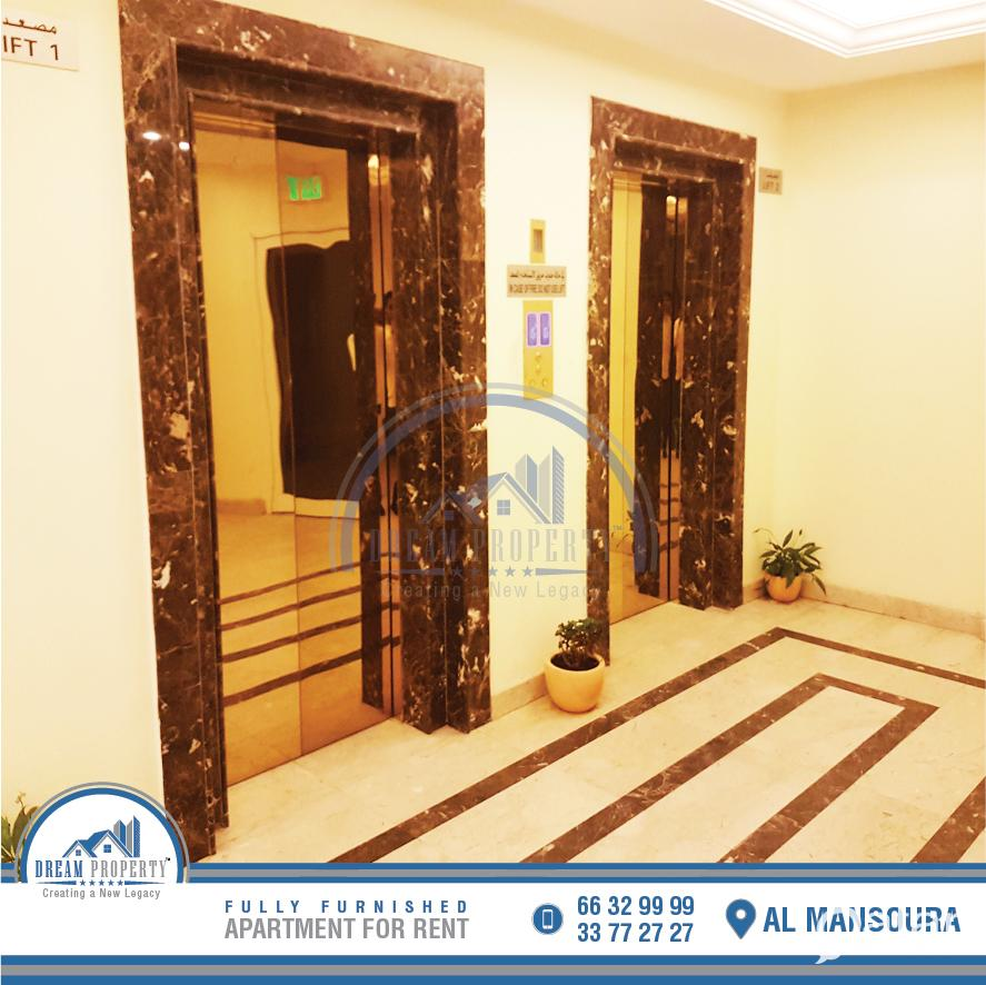 Fully Furnished 2 Bedroom Flat Al Mansoura Inclu