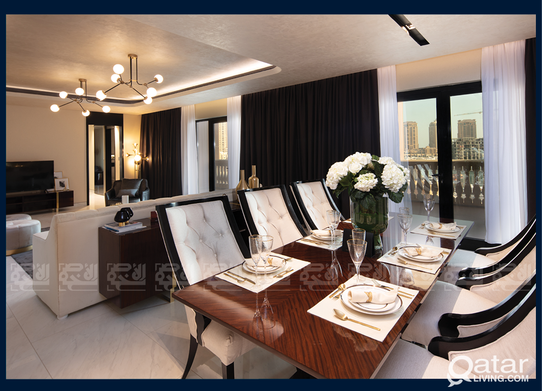 The Most Luxurious Residential Tower in The Pearl
