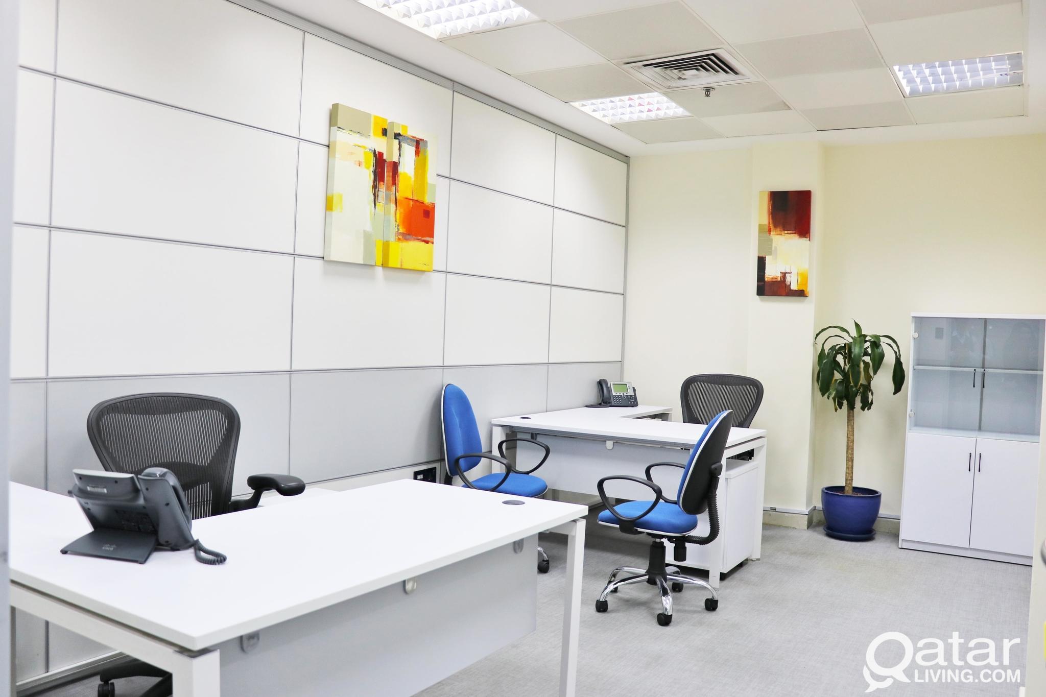 limited offer ! office for rent ! license included