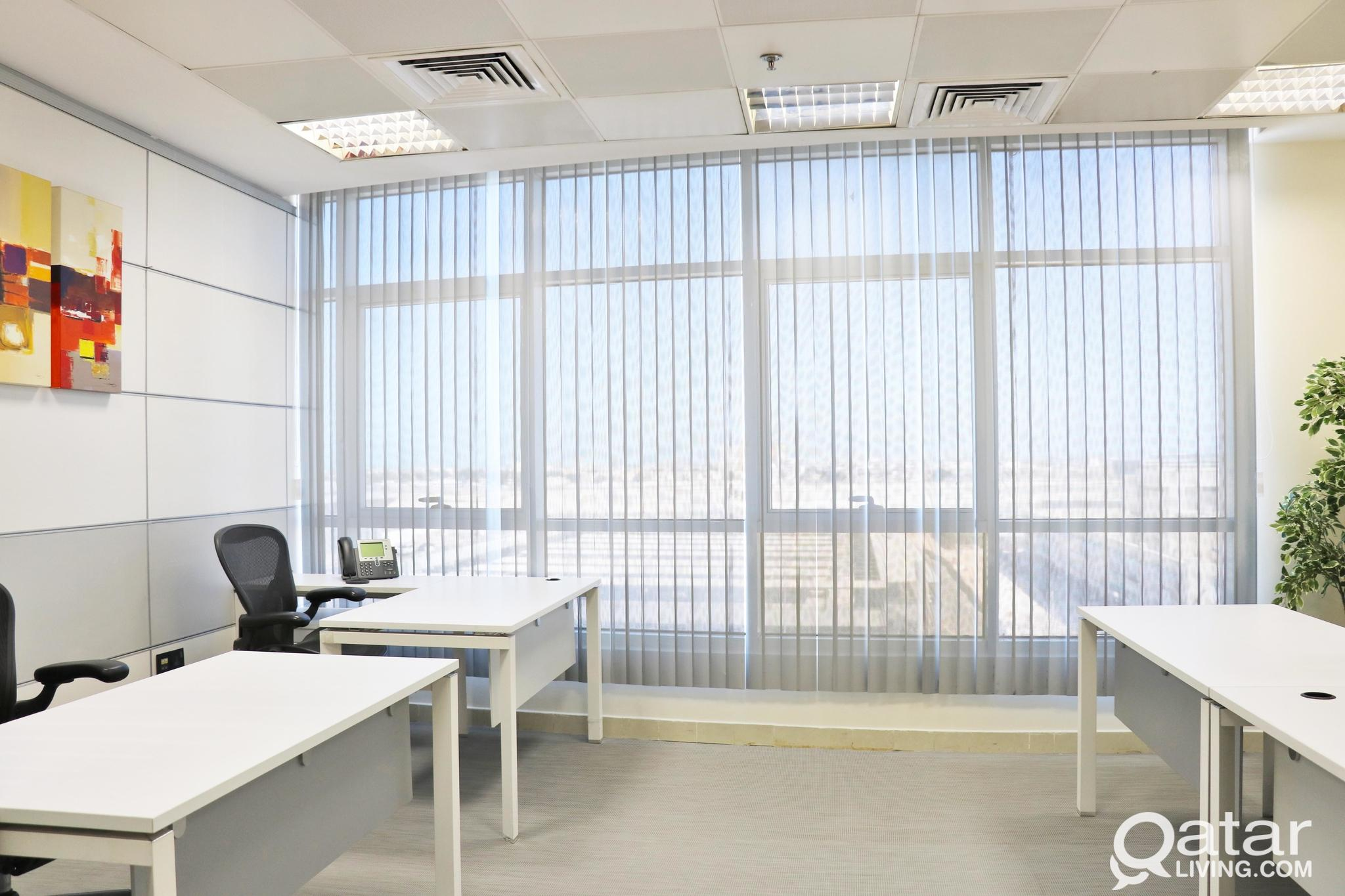 limited offer ! office for 4 persons ! license inc