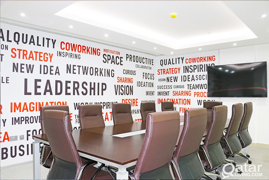 Big space private  office  in business center