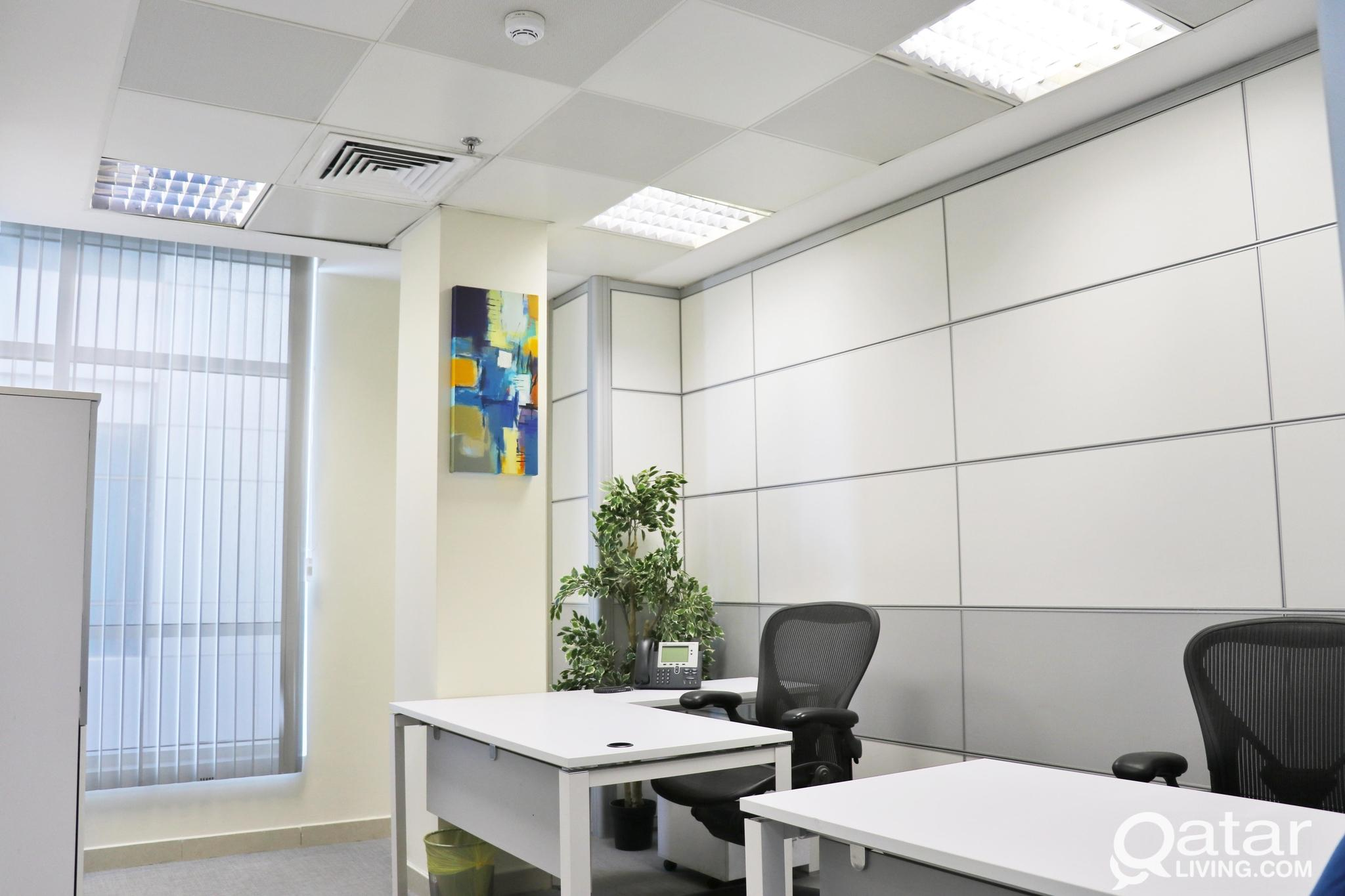 Private Office for rent included all services