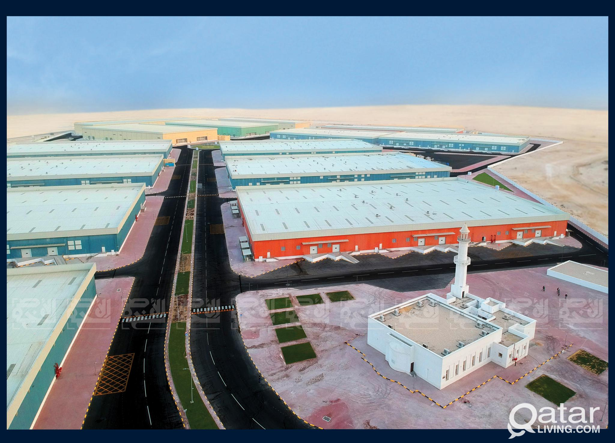 Ventilated Warehouses for Rent in Umm Salal