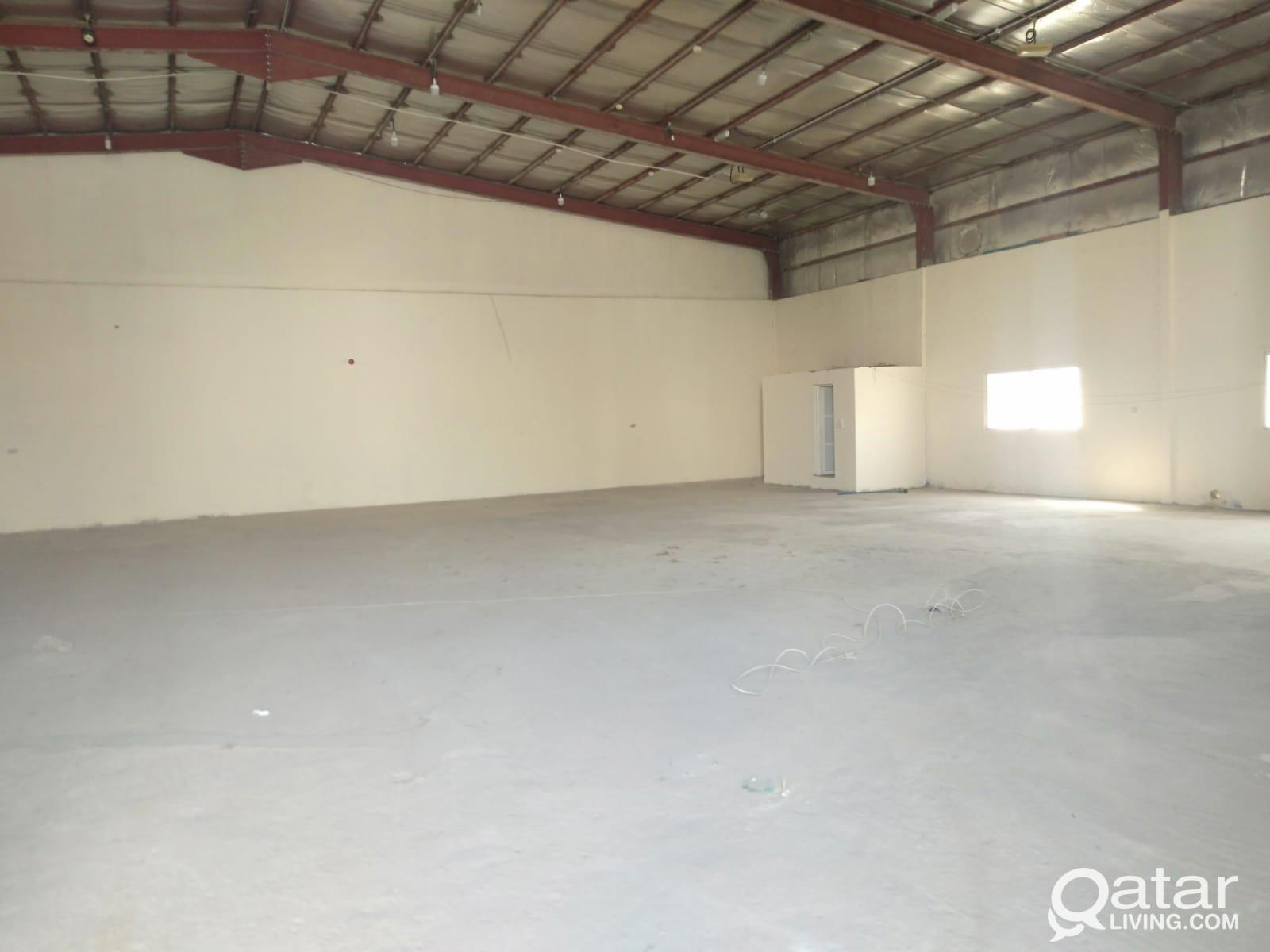 WAREHOUSE FOR RENT IN INDUSTRIAL AREA 350 SQMTR
