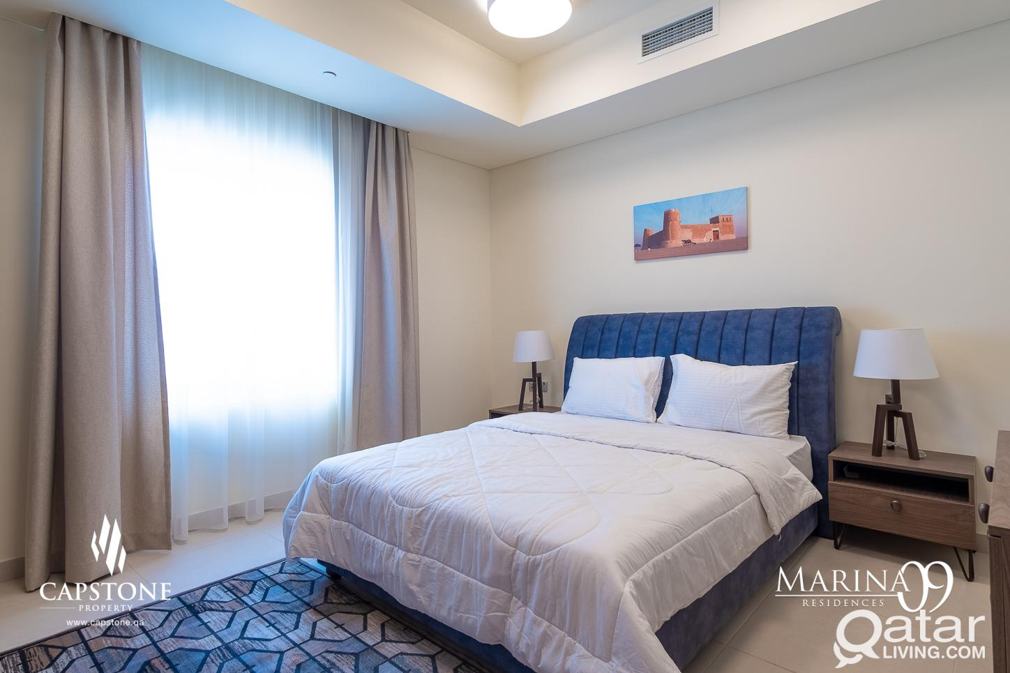 ALL BILLS INCLUDED! Brand New 3BR + Maid's room, S