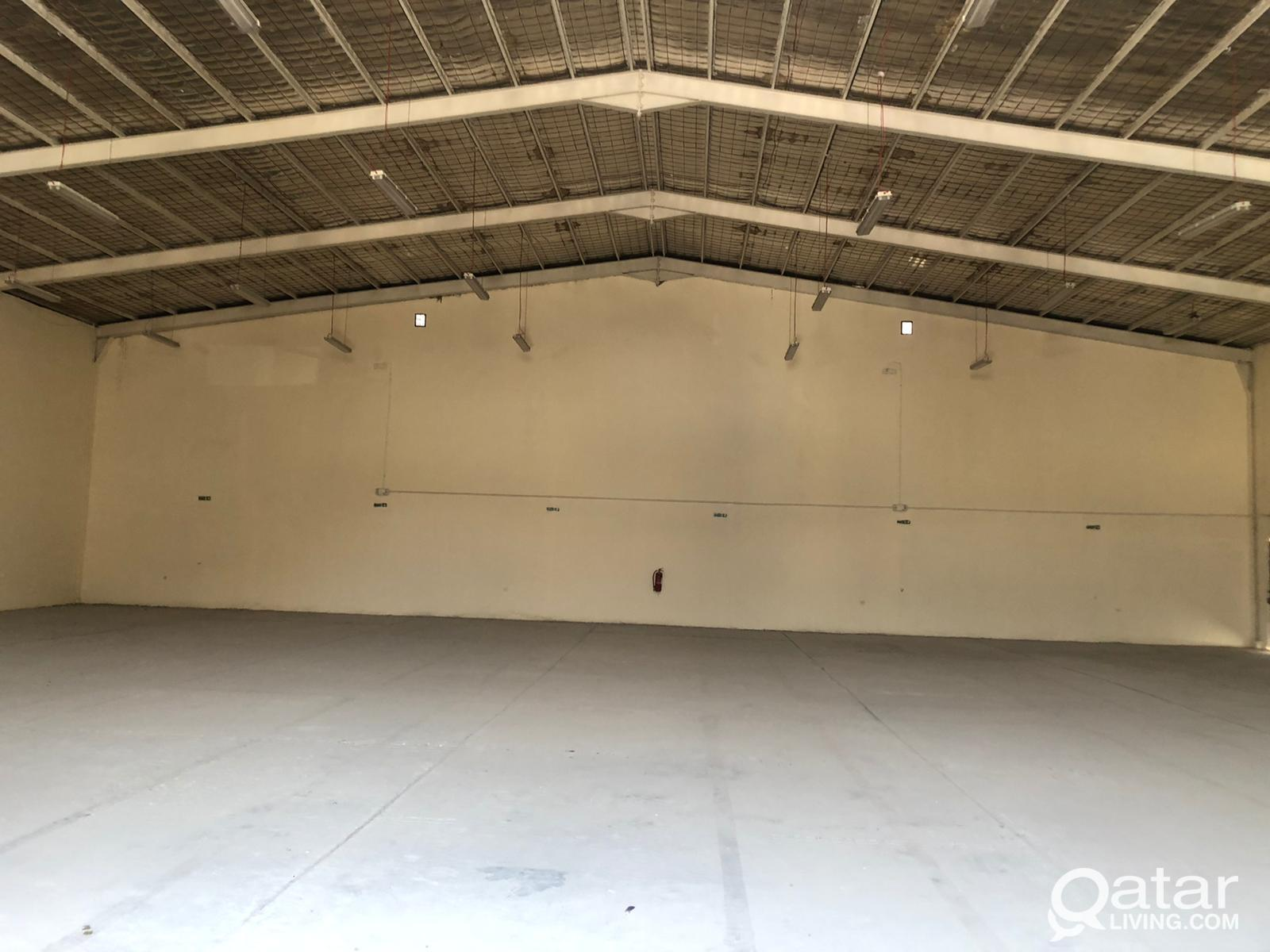 steel work shop for rent and 3 room