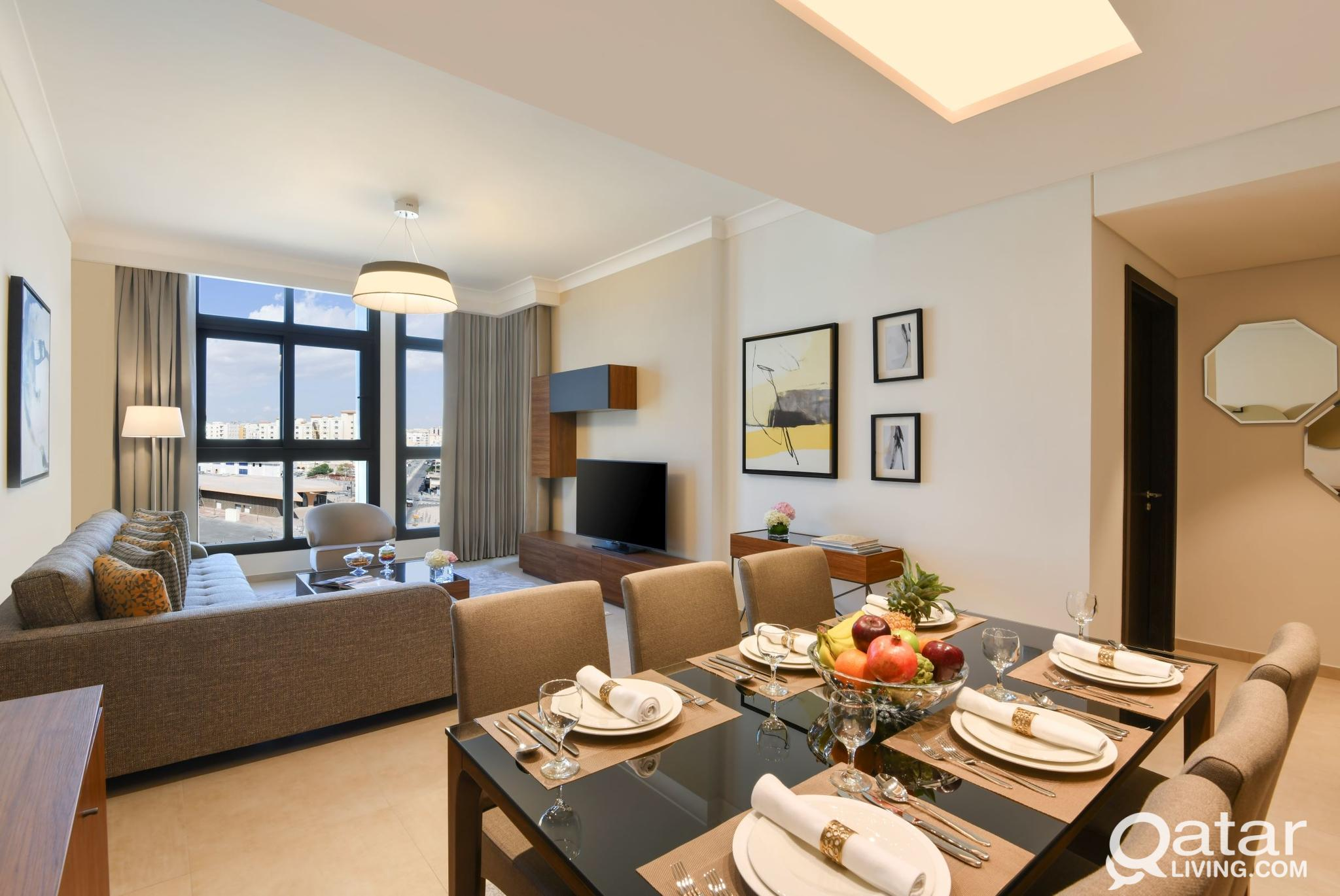 One Bedroom + Free Membership to Luxurious Facilit