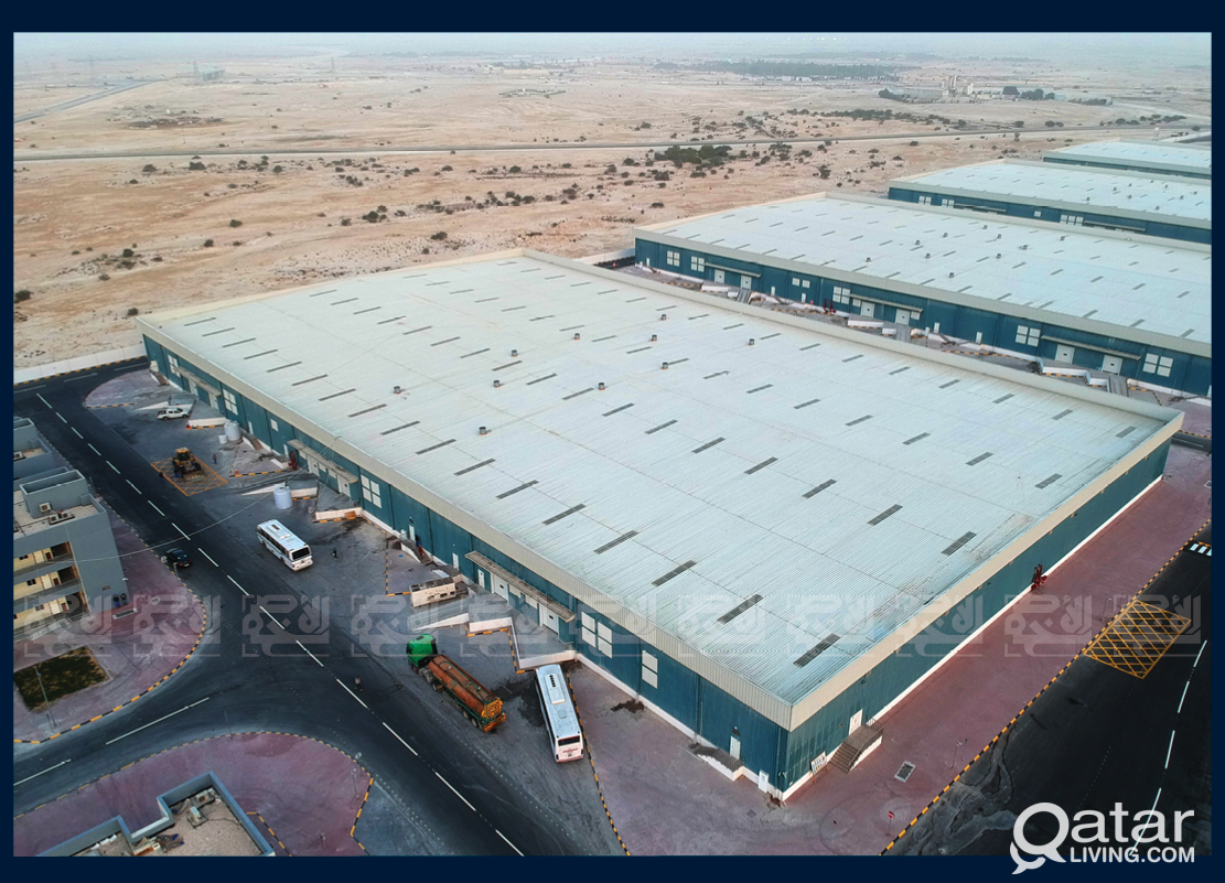 Ventilated Warehouses Ready for occupancy in Umm S