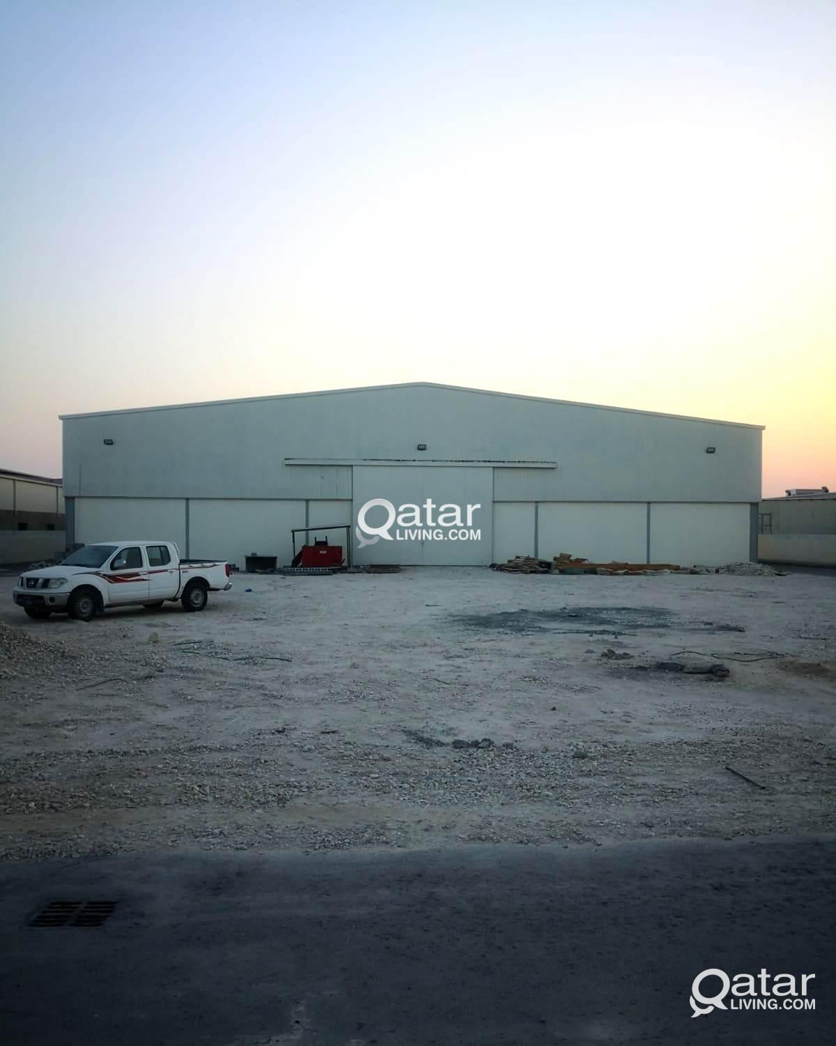 A New Large Spacious Factory Is Available For Sale