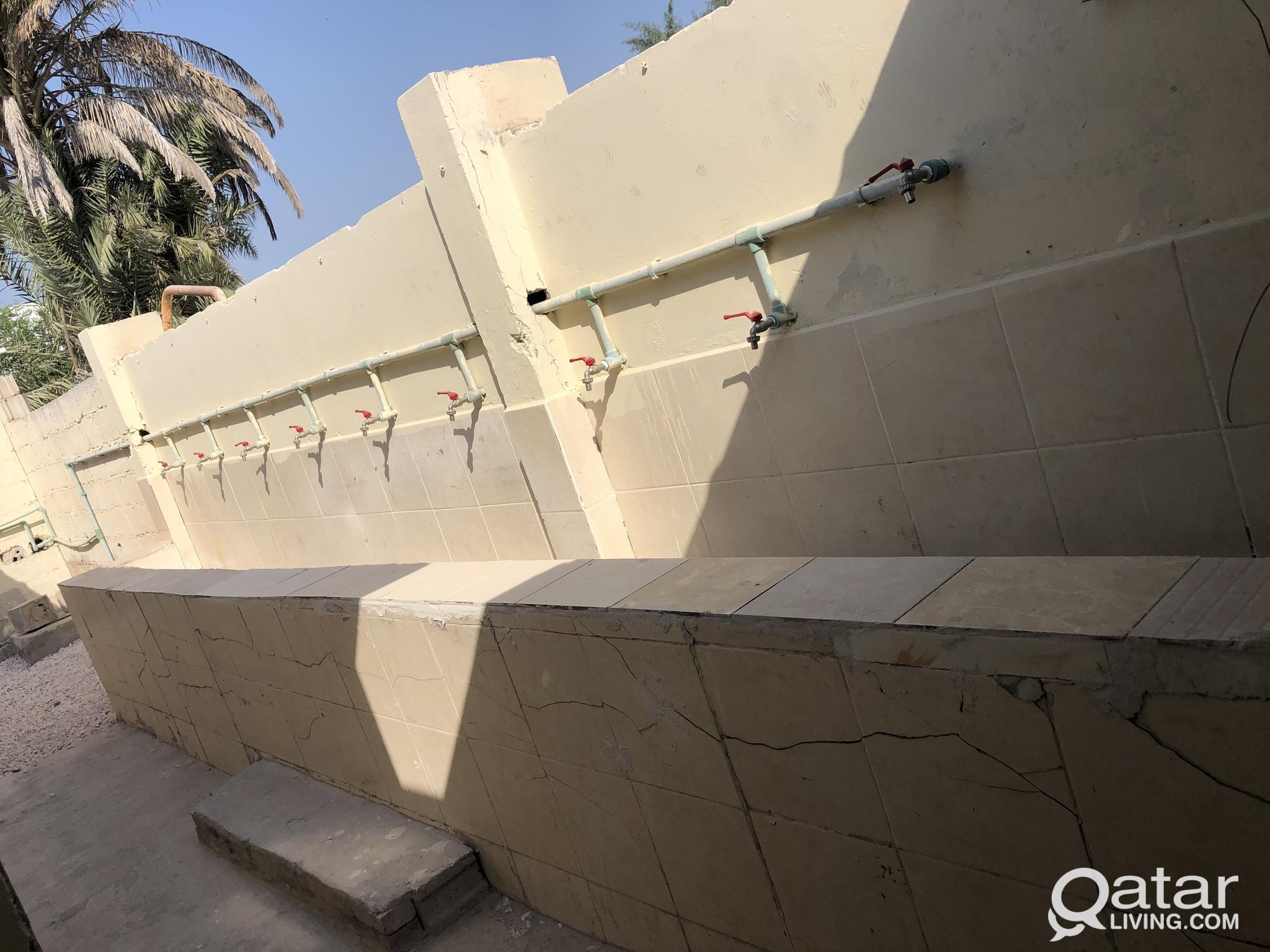 12 rooms labor camp in alkhor sanayya
