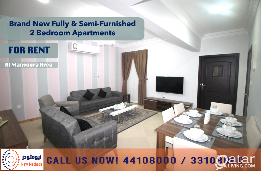 BRAND NEW FULLY & SEMI-FURNISHED APARTMENTS AT MAN