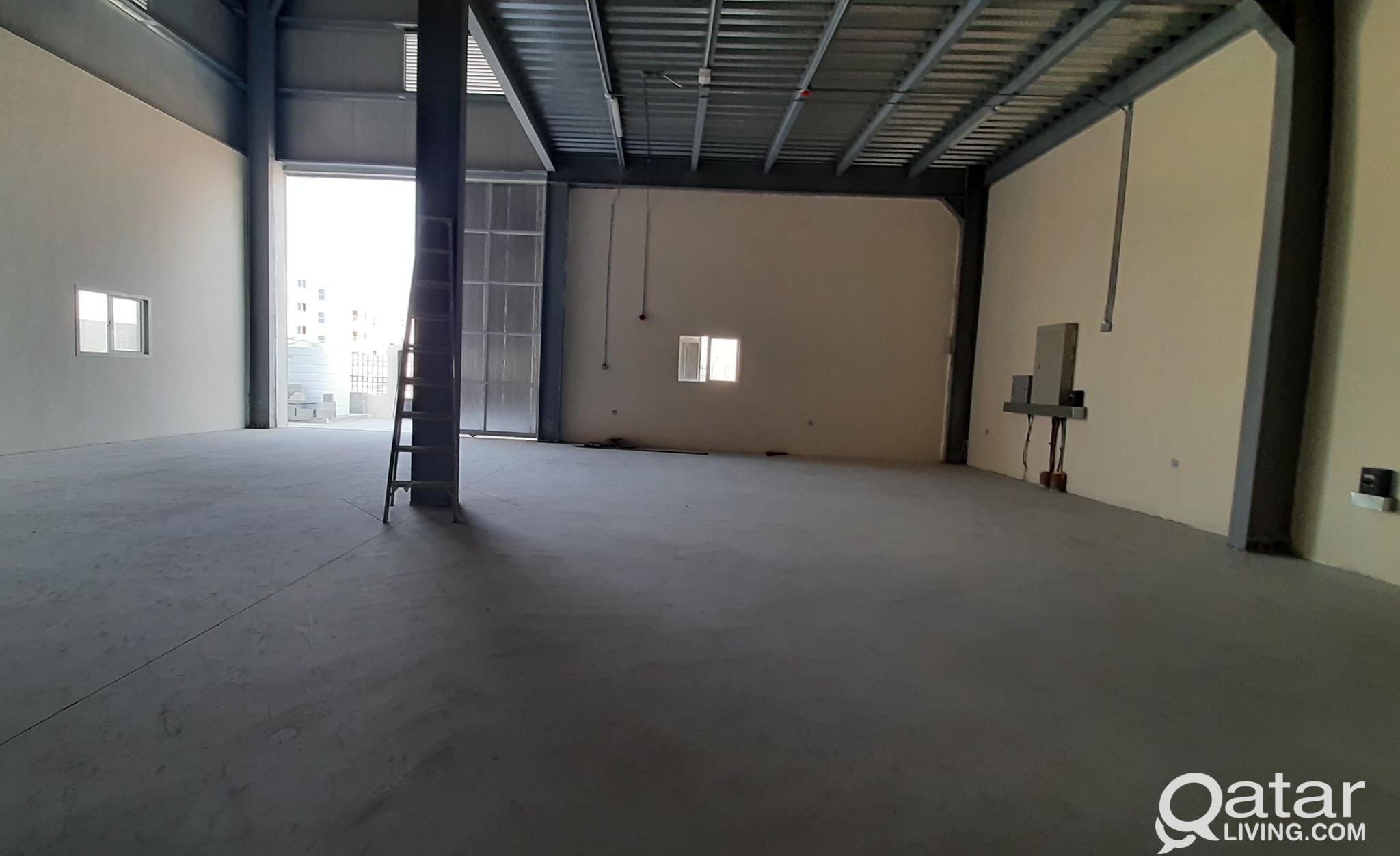 185 SQM STORE FOR RENT IN INDUSTRIAL AREA