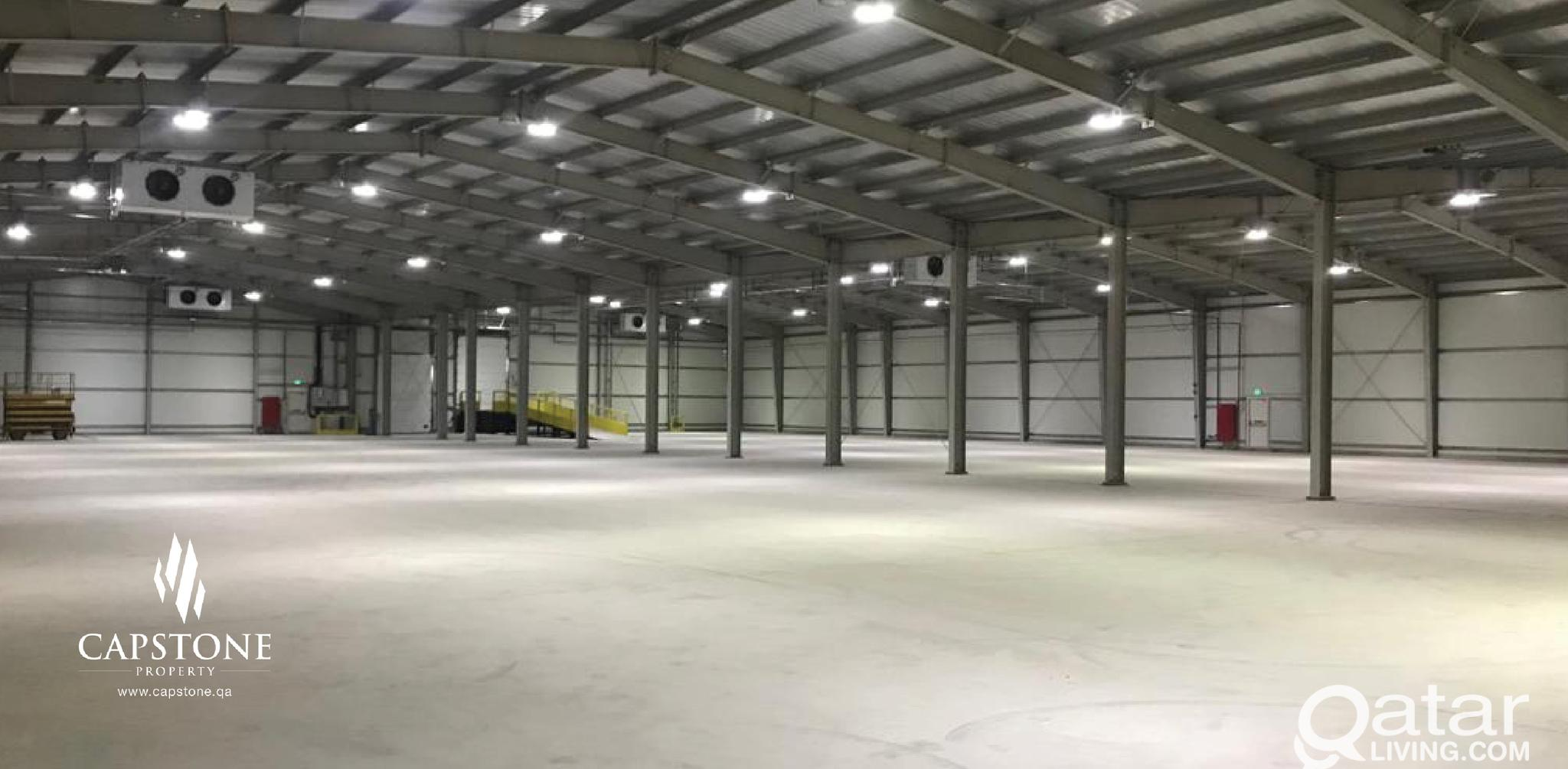 Warehouse for Rent! Free Two Months!
