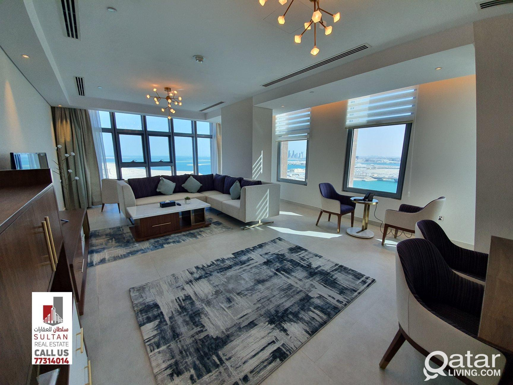 Fully Furnished apartments in Lusail