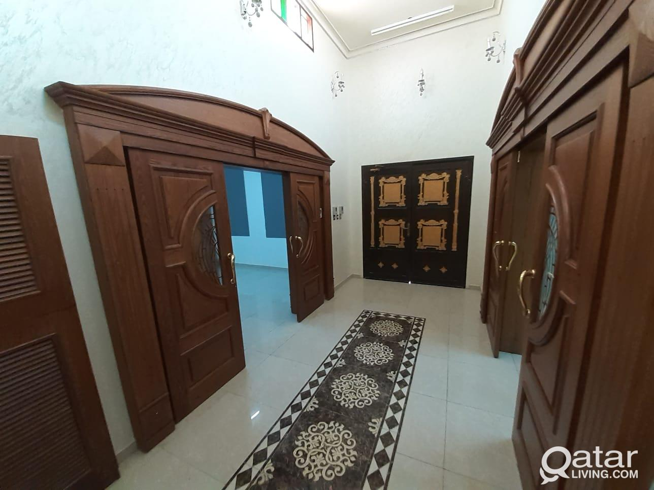 Majlis portion available for the family neat and c