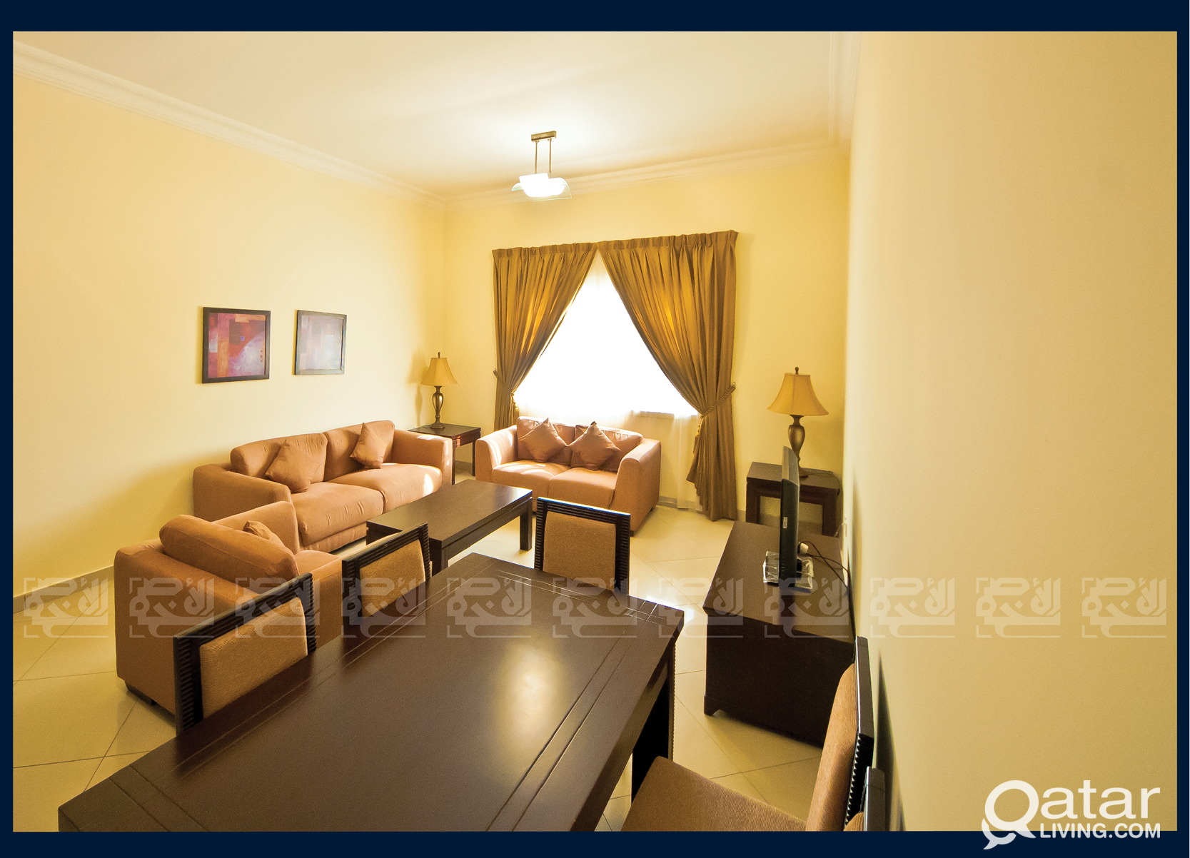 Fully Furnished 3-Bedroom in Al Muntazah
