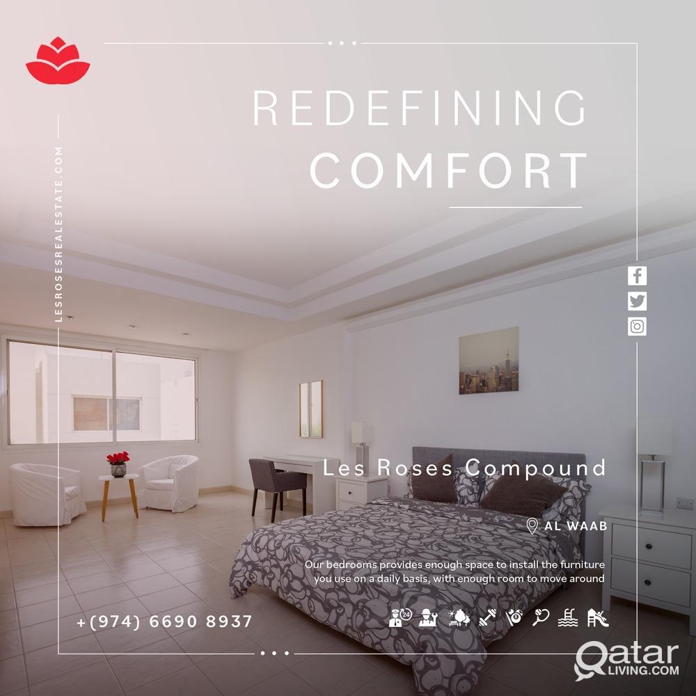 4 bed villa + Maid room No commission plus 1 Month