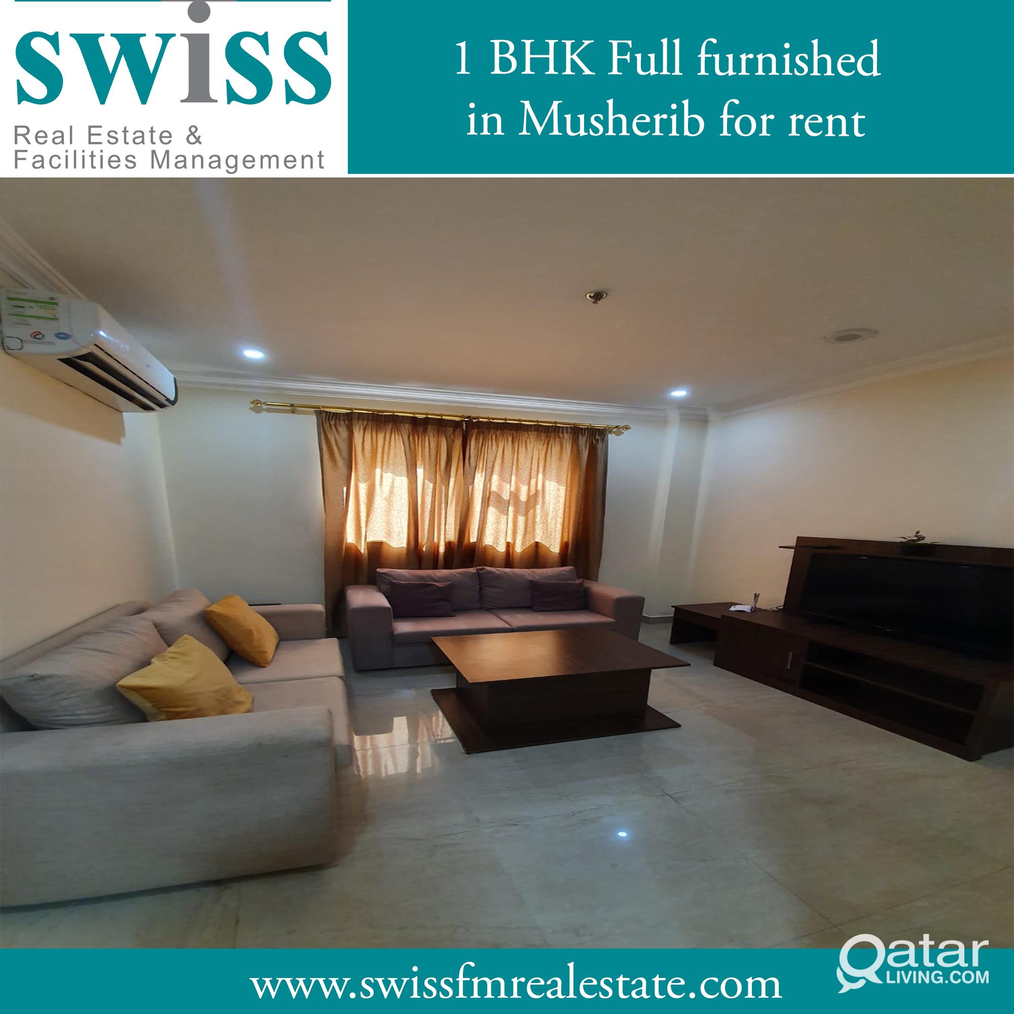 1 BHK apartment in Musheireb full furnished