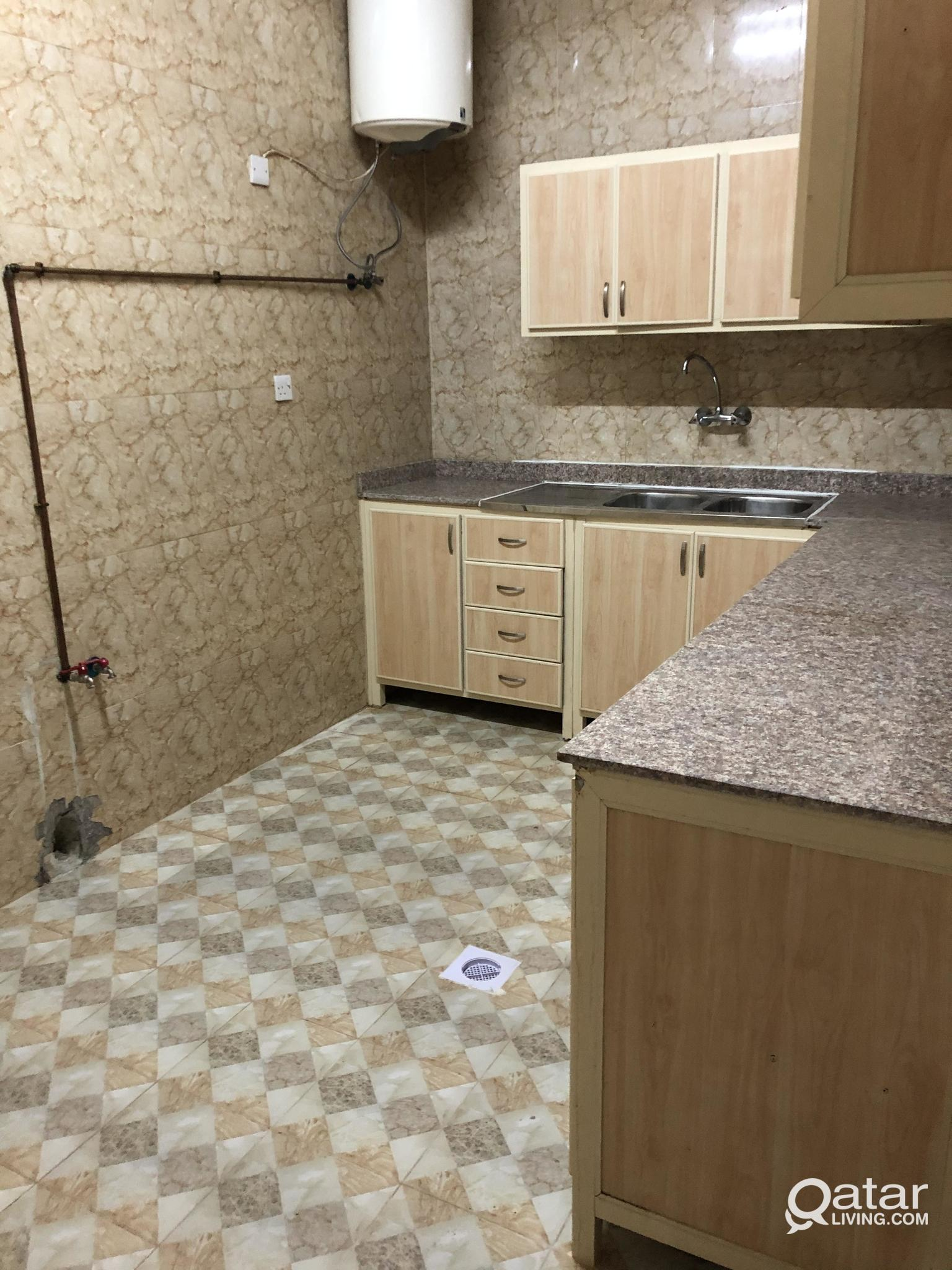 Large spacious 3 bhk With 3 bath and large hall..