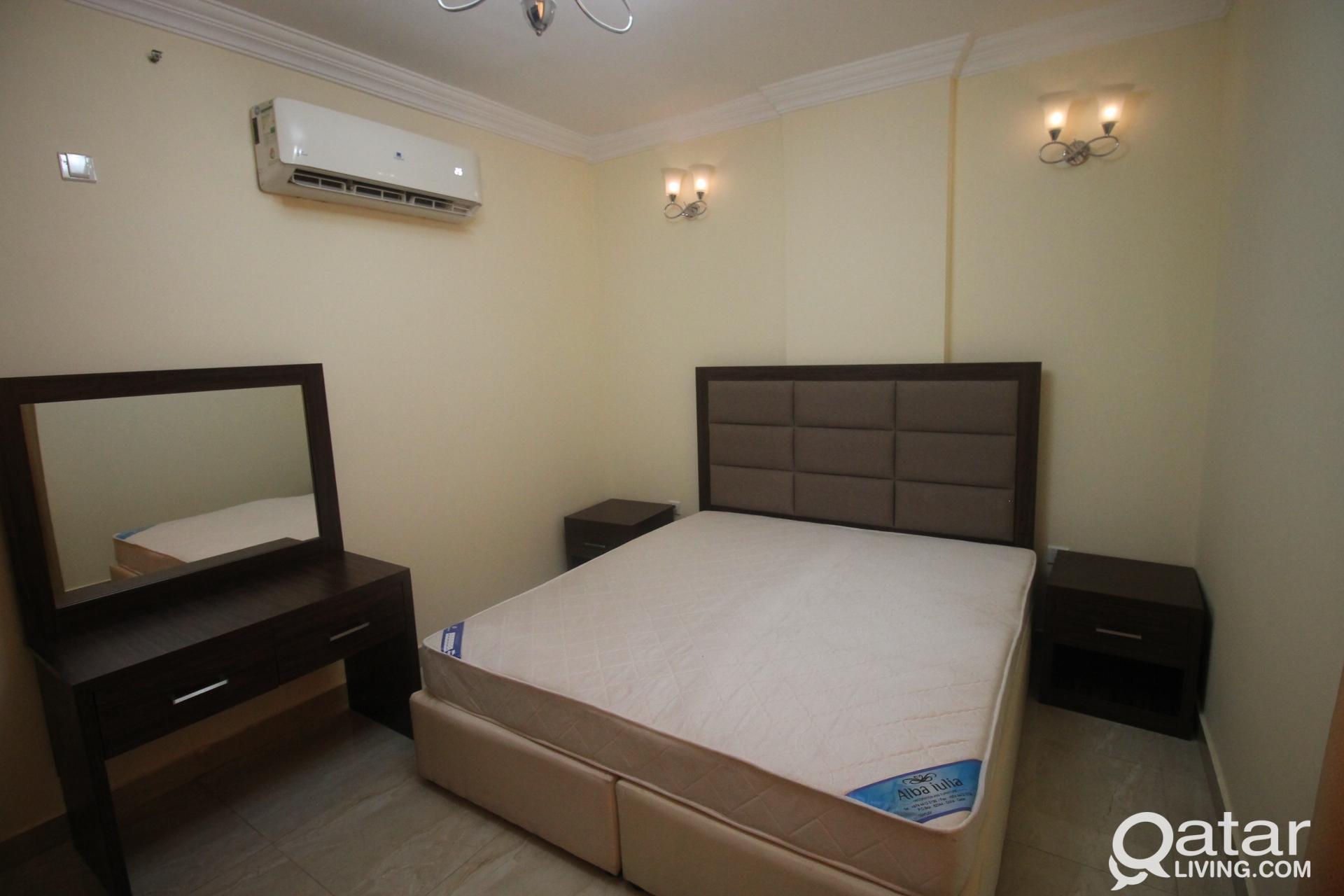 FULLY FURNISHED 1 BEDROOM APARTMENT AT MUSHERIB AR