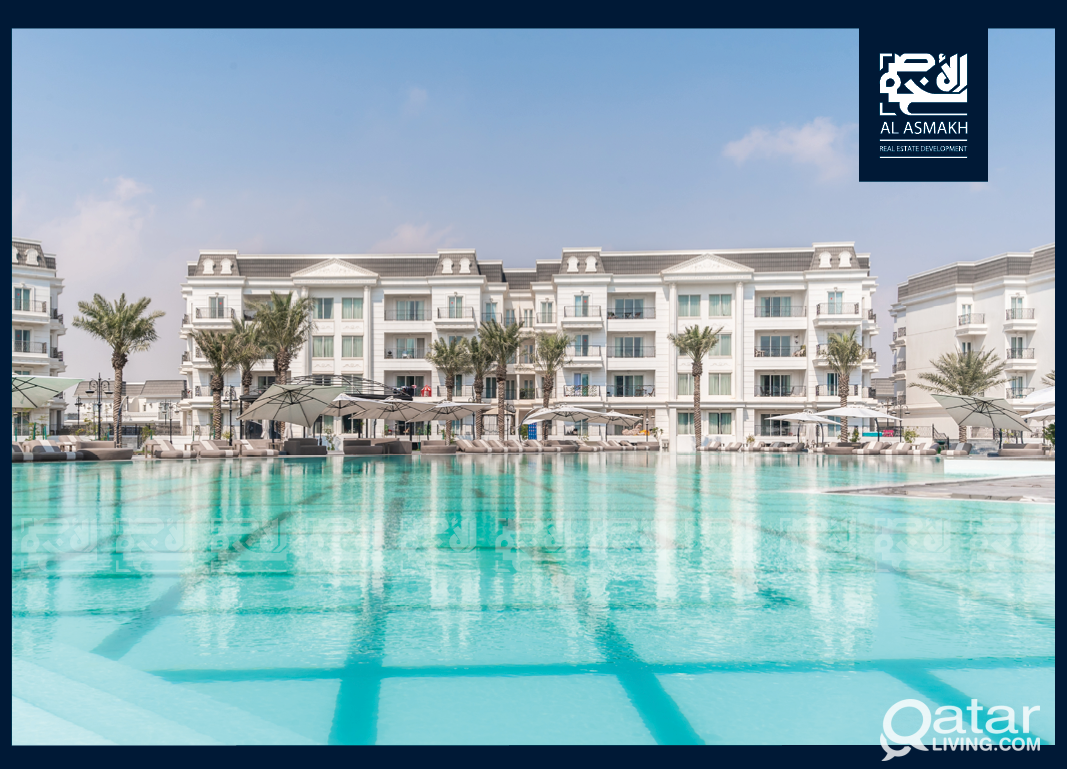 Luxurious & FF 3-Bedroom Apartment in Lusail