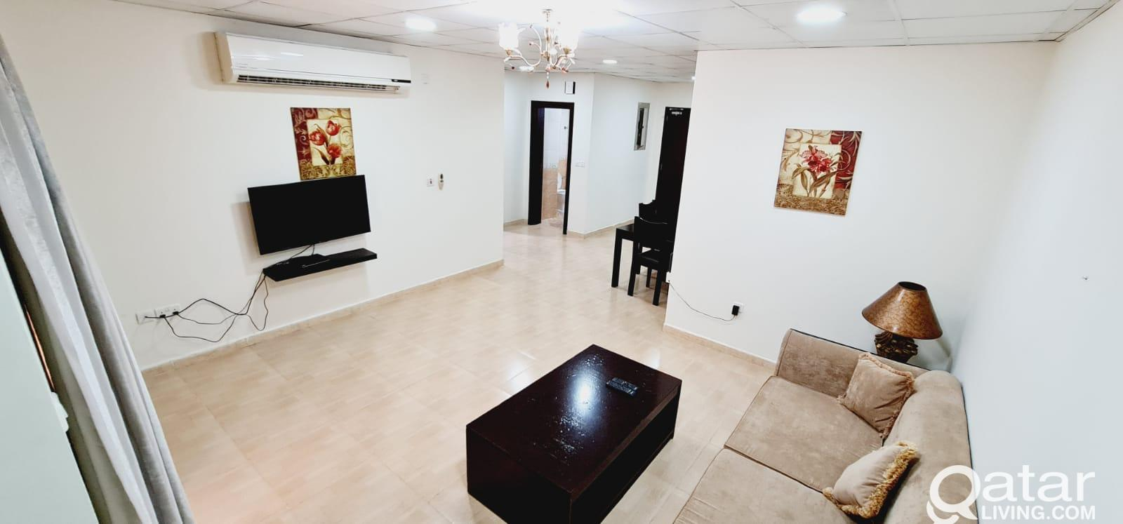 FF 1 BHK with GYM & Pool in Musheireb/=