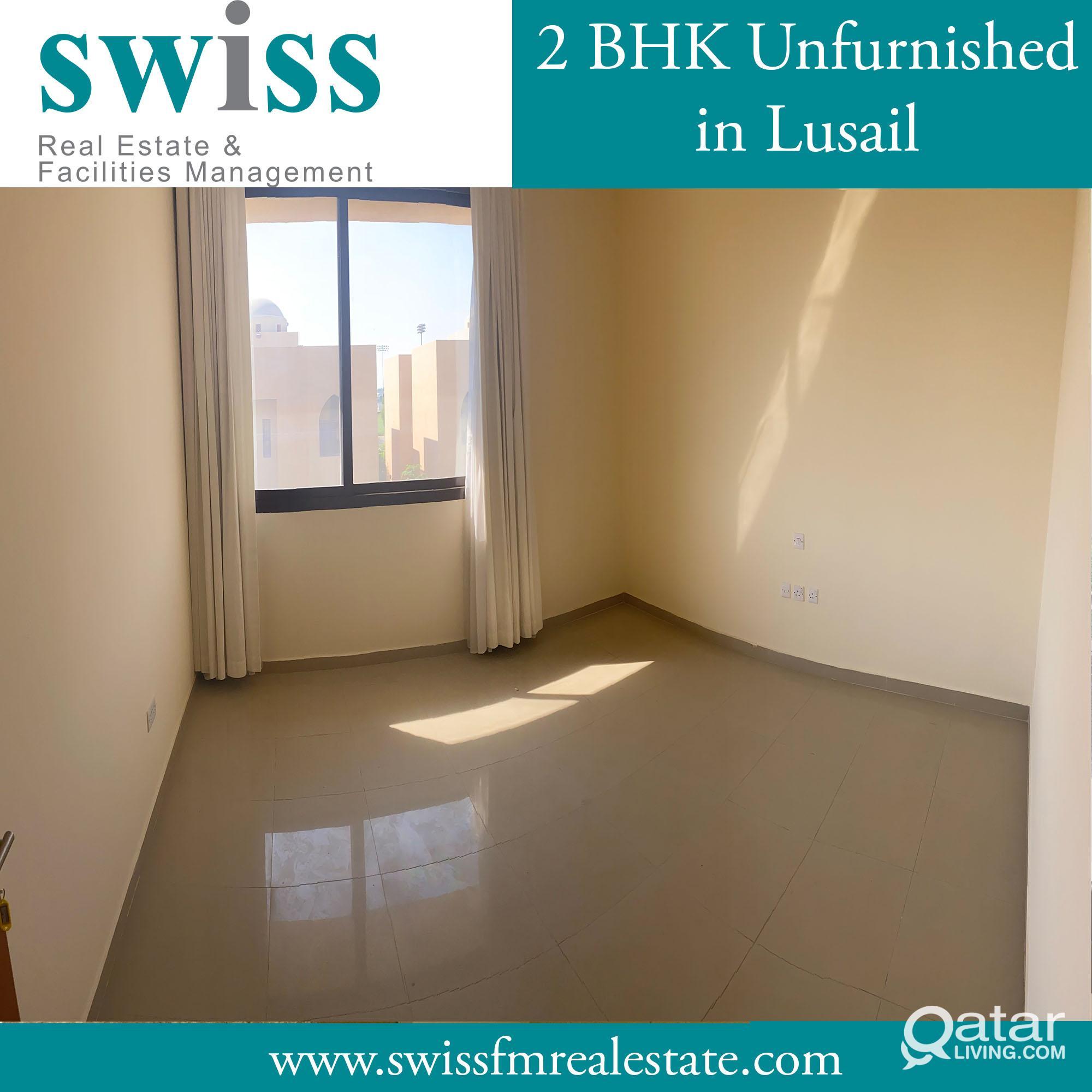 Semi furnished 3 BHK in lusail  compound