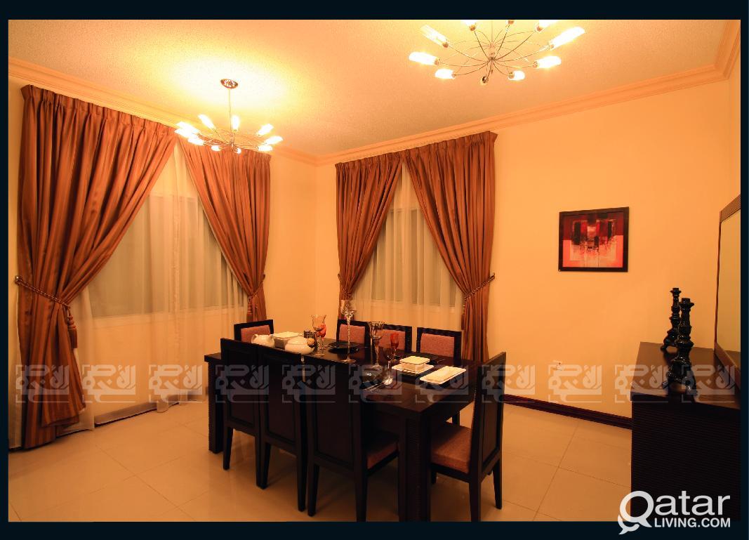 Fully Furnished 1-BDR Apt in Al Sadd