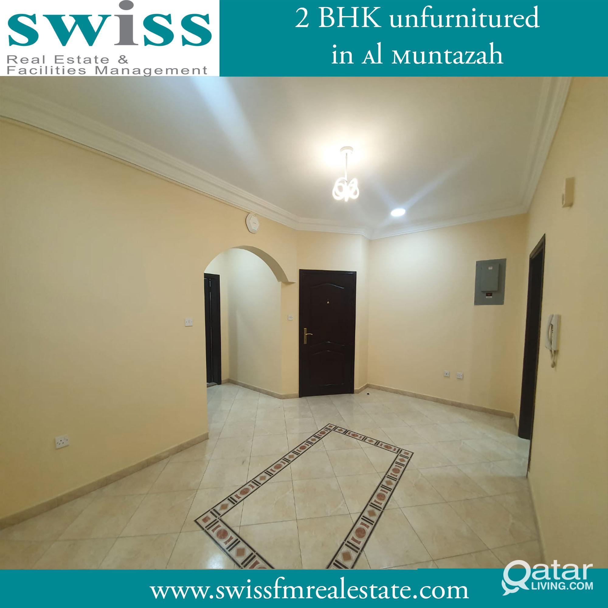 2 Bhk unfurnished in al muntazah for rent