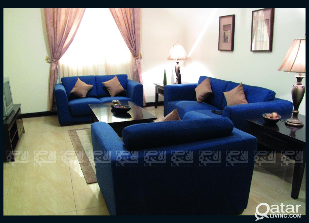 Furnished 3 Bedrooms Apt in Al Sadd