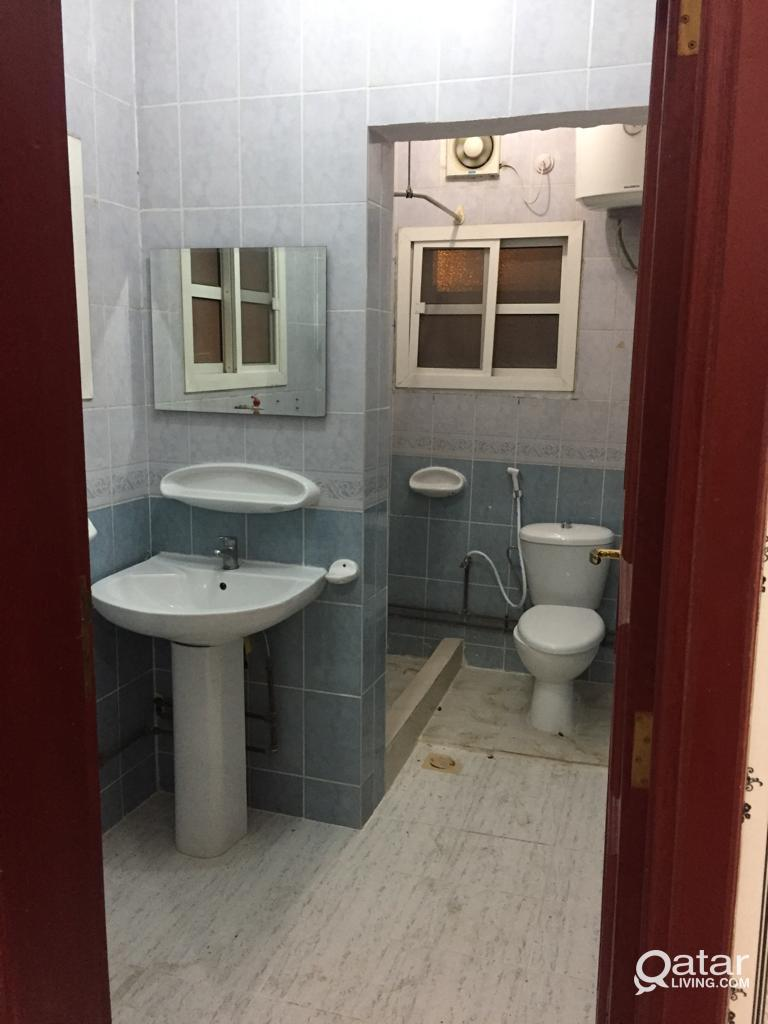 1 Bedroom+  full bath + kitchen available for fami