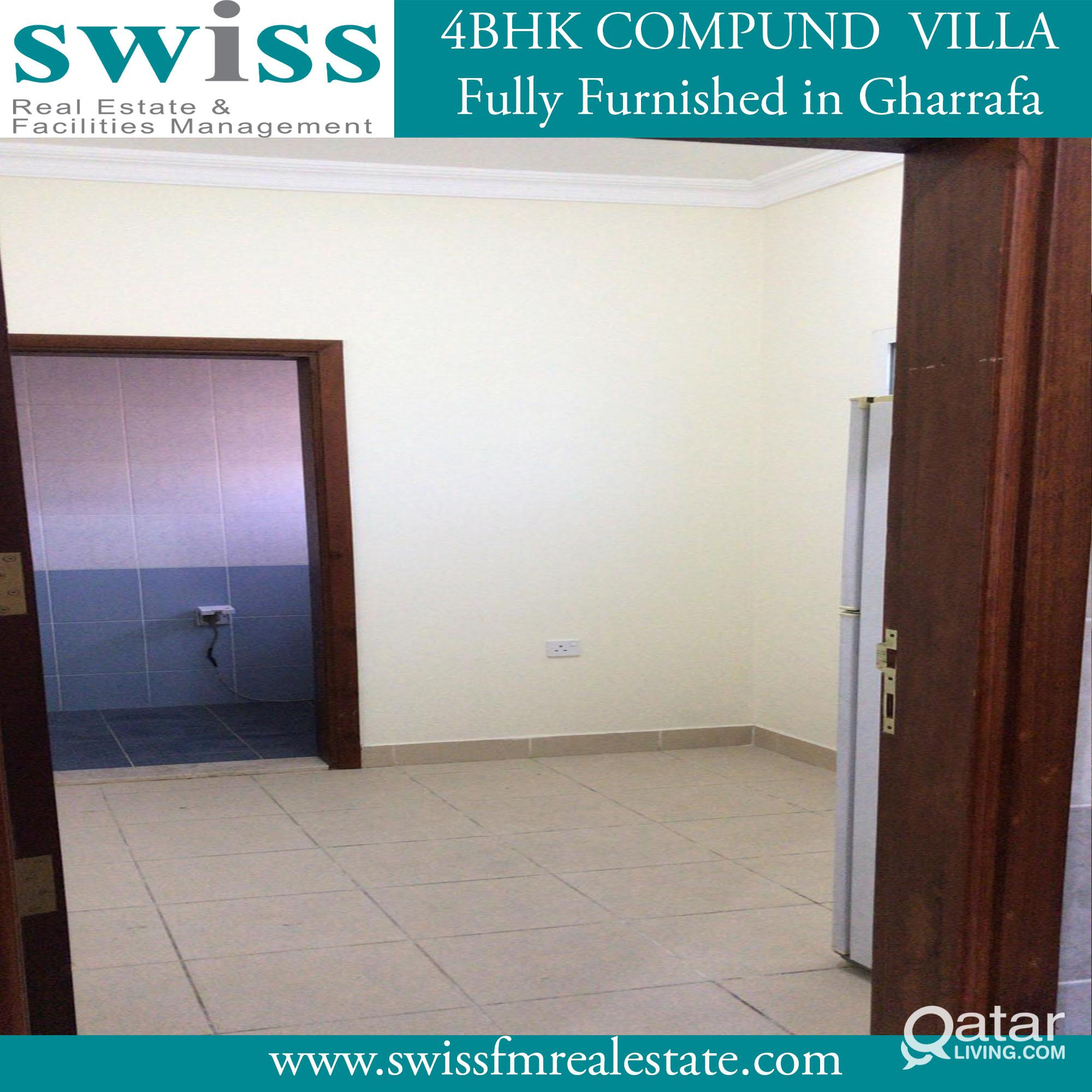 Semi-F 4BHK  villa in compound with 1 month free