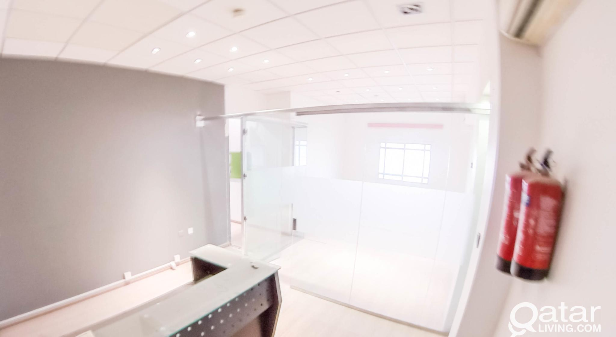 UNFURNISHED, 3 -ROOMS OFFICE SPACE IN AL SADD
