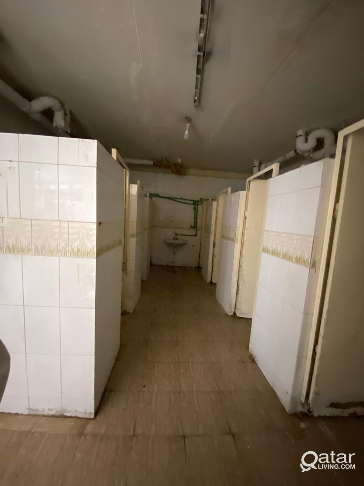 8 Labour Rooms Available industrial Area  Only 120