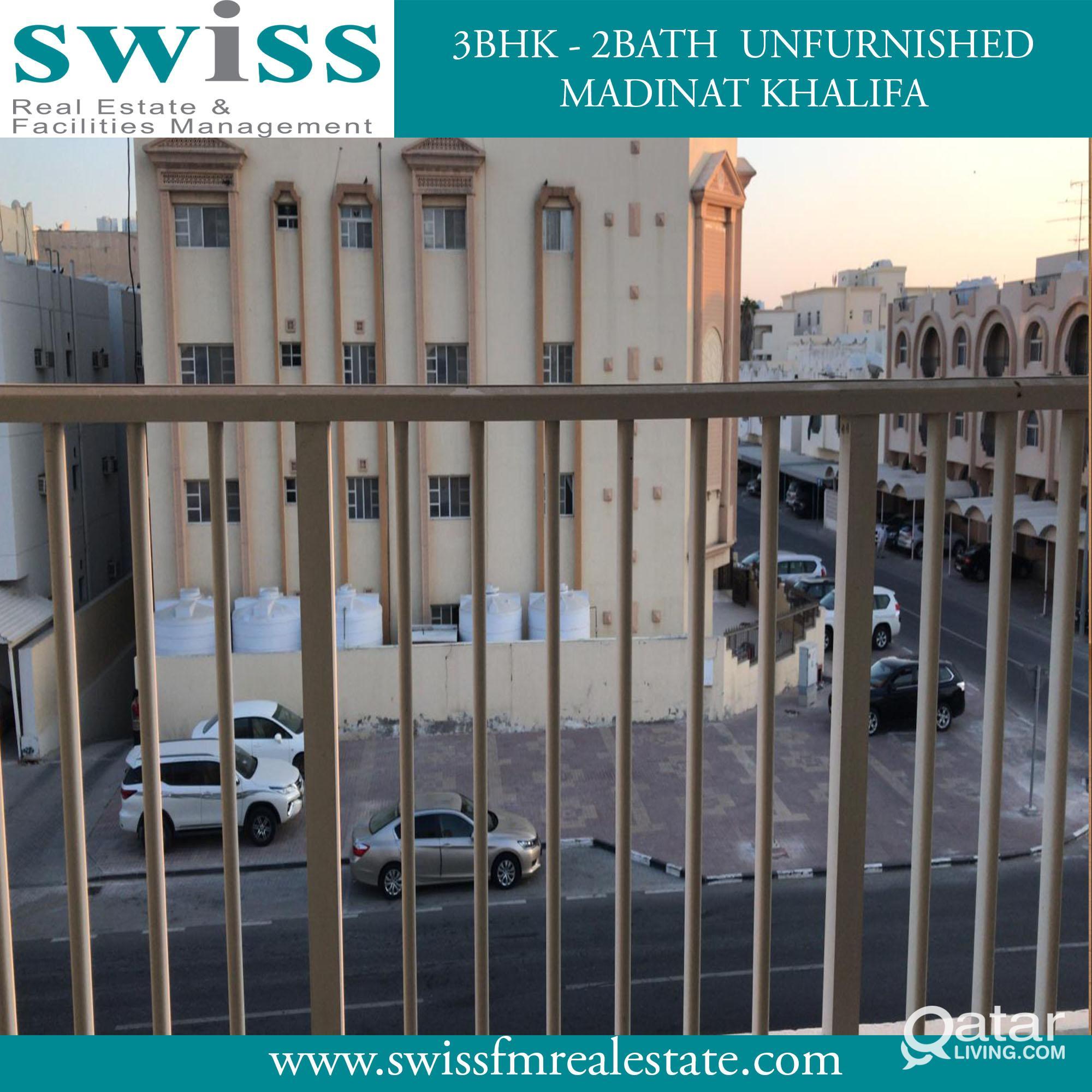 Spacious U/F 3BHK in Madinath Khalifa+1 month free